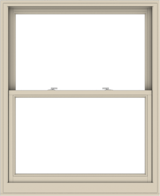 WDMA 44x54 (43.5 x 53.5 inch)  Aluminum Single Hung Double Hung Window without Grids-2