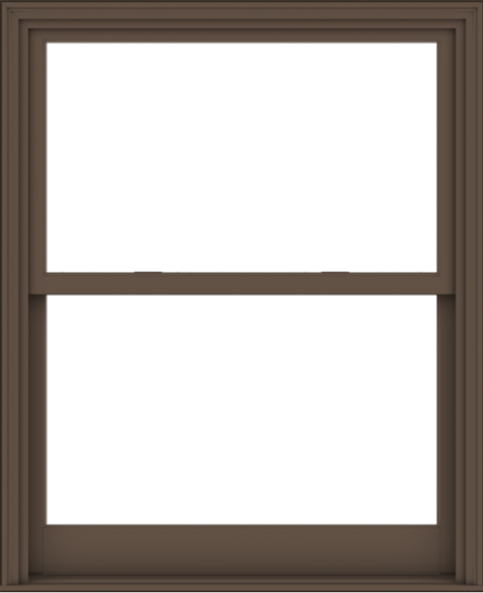 WDMA 44x54 (43.5 x 53.5 inch)  Aluminum Single Hung Double Hung Window without Grids-4
