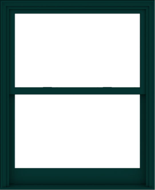 WDMA 44x54 (43.5 x 53.5 inch)  Aluminum Single Hung Double Hung Window without Grids-5