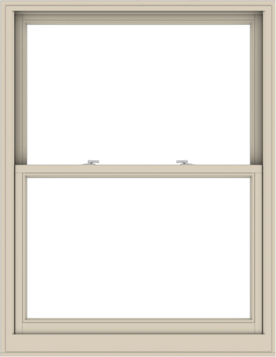 WDMA 44x57 (43.5 x 56.5 inch)  Aluminum Single Hung Double Hung Window without Grids-2