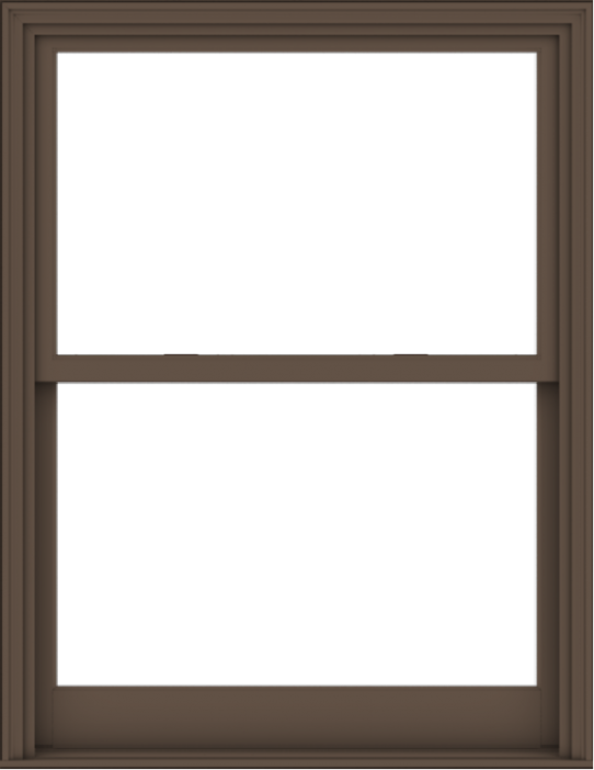 WDMA 44x57 (43.5 x 56.5 inch)  Aluminum Single Hung Double Hung Window without Grids-4