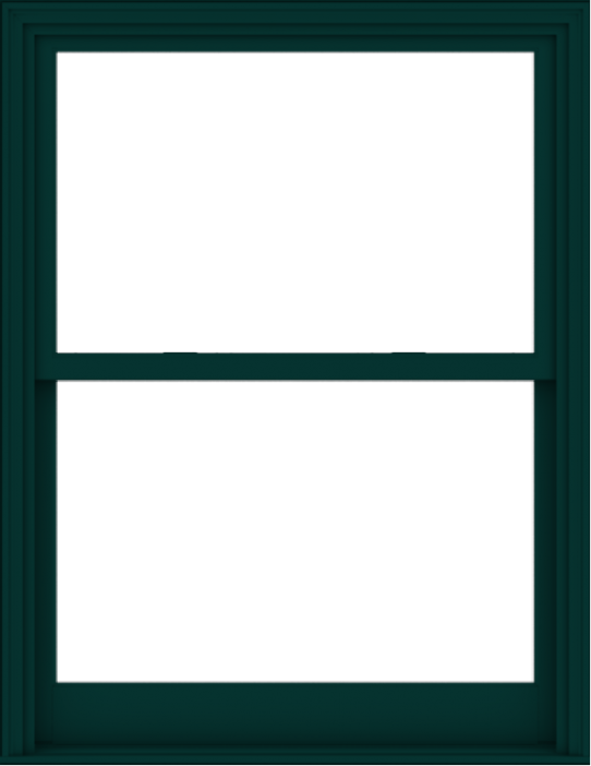 WDMA 44x57 (43.5 x 56.5 inch)  Aluminum Single Hung Double Hung Window without Grids-5