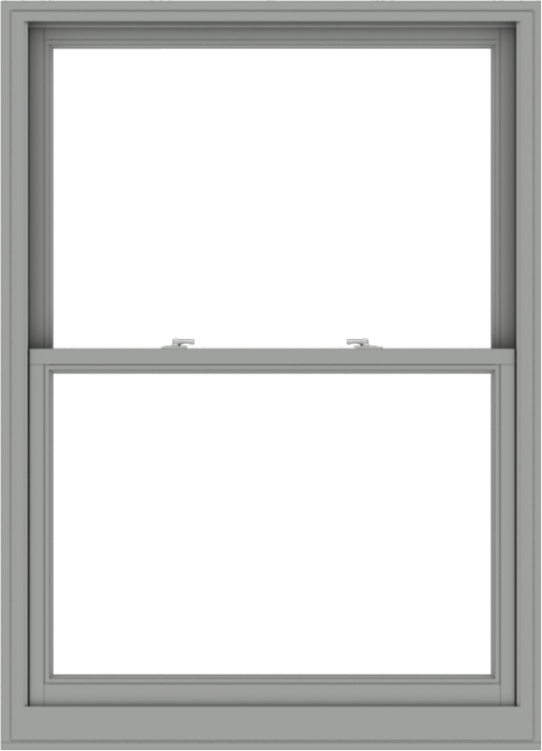 WDMA 44x61 (43.5 x 60.5 inch)  Aluminum Single Double Hung Window without Grids-1