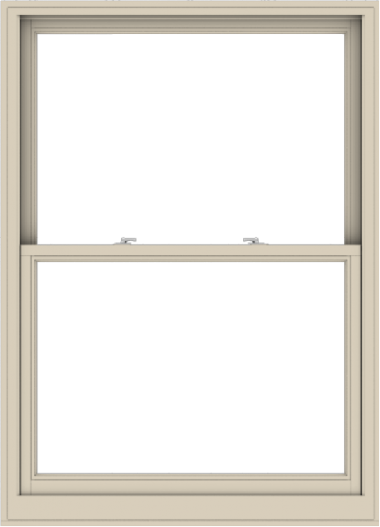 WDMA 44x61 (43.5 x 60.5 inch)  Aluminum Single Hung Double Hung Window without Grids-2