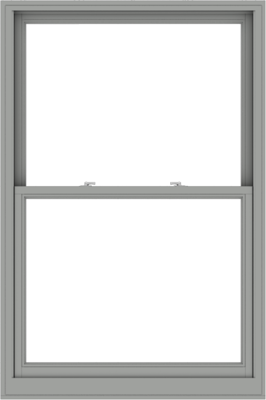 WDMA 44x66 (43.5 x 65.5 inch)  Aluminum Single Double Hung Window without Grids-1