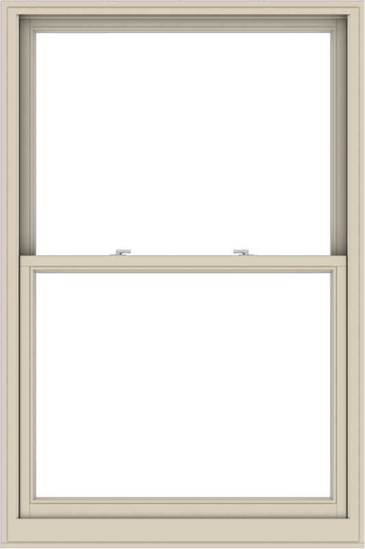 WDMA 44x66 (43.5 x 65.5 inch)  Aluminum Single Hung Double Hung Window without Grids-2