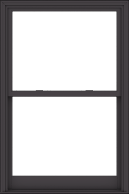 WDMA 44x66 (43.5 x 65.5 inch)  Aluminum Single Hung Double Hung Window without Grids-3