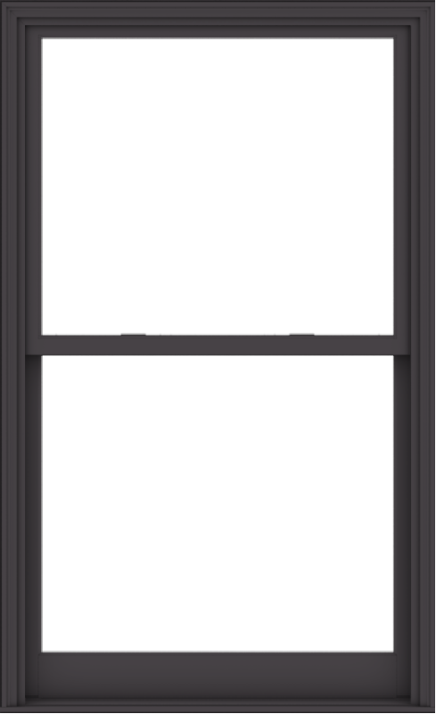 WDMA 44x72 (43.5 x 71.5 inch)  Aluminum Single Hung Double Hung Window without Grids-3