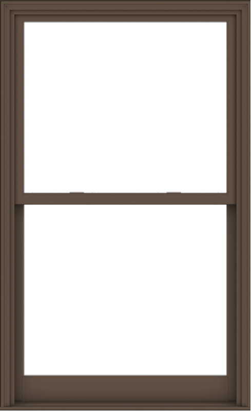 WDMA 44x72 (43.5 x 71.5 inch)  Aluminum Single Hung Double Hung Window without Grids-4