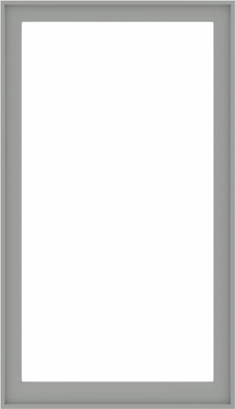 WDMA 44x76 (43.5 x 75.5 inch) Composite Wood Aluminum-Clad Picture Window without Grids-5