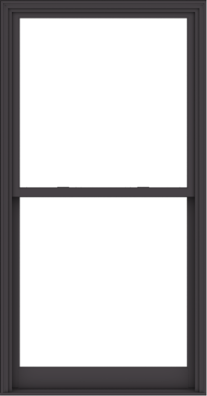 WDMA 44x84 (43.5 x 83.5 inch)  Aluminum Single Hung Double Hung Window without Grids-3