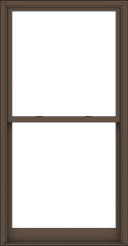 WDMA 44x84 (43.5 x 83.5 inch)  Aluminum Single Hung Double Hung Window without Grids-4