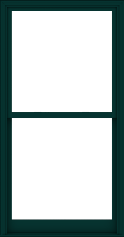WDMA 44x84 (43.5 x 83.5 inch)  Aluminum Single Hung Double Hung Window without Grids-5