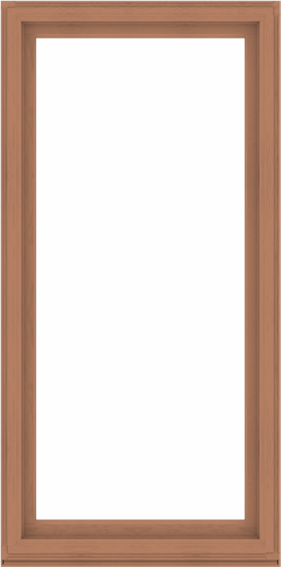 WDMA 44x88 (43.5 x 87.5 inch) Composite Wood Aluminum-Clad Picture Window without Grids-4