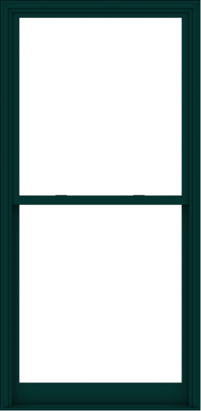 WDMA 44x90 (43.5 x 89.5 inch)  Aluminum Single Hung Double Hung Window without Grids-5