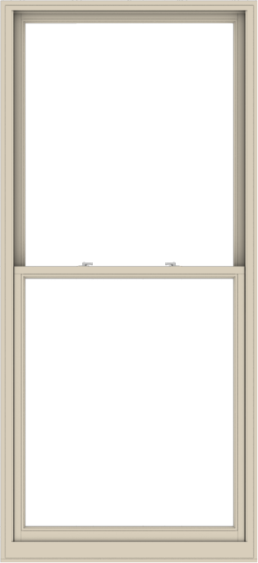 WDMA 44x96 (43.5 x 95.5 inch)  Aluminum Single Hung Double Hung Window without Grids-2