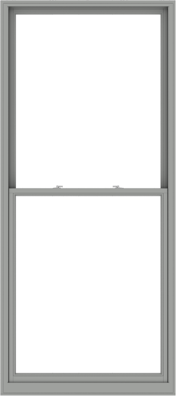 WDMA 48x108 (47.5 x 107.5 inch)  Aluminum Single Double Hung Window without Grids-1