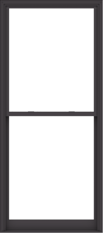 WDMA 48x108 (47.5 x 107.5 inch)  Aluminum Single Hung Double Hung Window without Grids-3