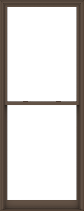 WDMA 48x120 (47.5 x 119.5 inch)  Aluminum Single Hung Double Hung Window without Grids-4