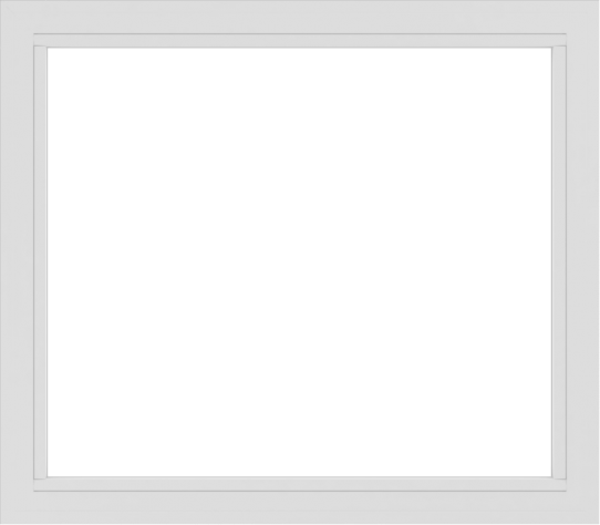 WDMA 48x42 (47.5 x 41.5 inch) Vinyl uPVC White Picture Window without Grids-2