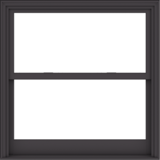 WDMA 48x48 (47.5 x 47.5 inch)  Aluminum Single Hung Double Hung Window without Grids-3