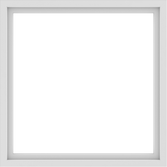 WDMA 48x48 (47.5 x 47.5 inch) Vinyl uPVC White Picture Window without Grids-1