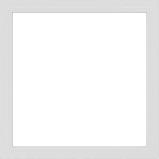 WDMA 48x48 (47.5 x 47.5 inch) Vinyl uPVC White Picture Window without Grids-2