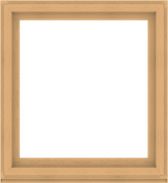 WDMA 48x52 (47.5 x 51.5 inch) Composite Wood Aluminum-Clad Picture Window without Grids-3