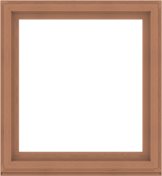 WDMA 48x52 (47.5 x 51.5 inch) Composite Wood Aluminum-Clad Picture Window without Grids-4