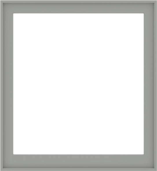 WDMA 48x52 (47.5 x 51.5 inch) Composite Wood Aluminum-Clad Picture Window without Grids-5