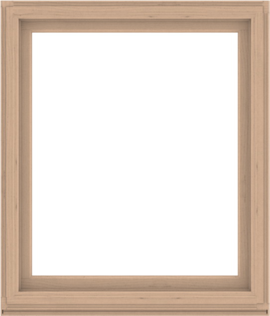 WDMA 48x56 (47.5 x 55.5 inch) Composite Wood Aluminum-Clad Picture Window without Grids-2