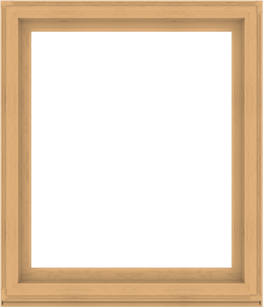 WDMA 48x56 (47.5 x 55.5 inch) Composite Wood Aluminum-Clad Picture Window without Grids-3