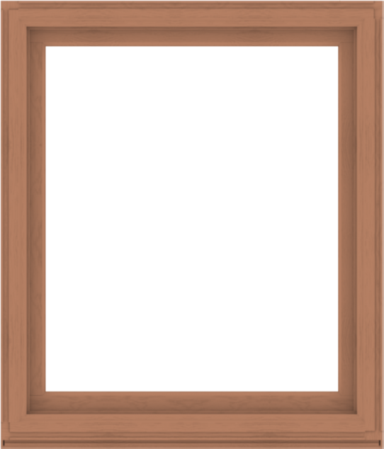 WDMA 48x56 (47.5 x 55.5 inch) Composite Wood Aluminum-Clad Picture Window without Grids-4