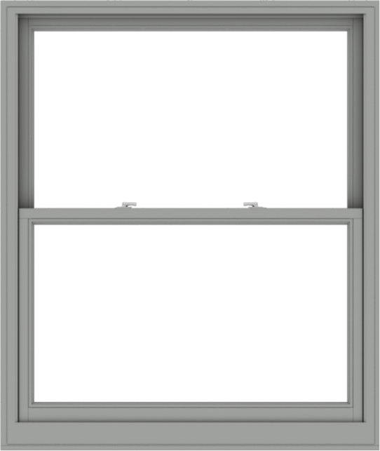 WDMA 48x57 (47.5 x 56.5 inch)  Aluminum Single Double Hung Window without Grids-1