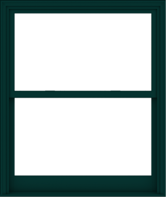 WDMA 48x57 (47.5 x 56.5 inch)  Aluminum Single Hung Double Hung Window without Grids-5