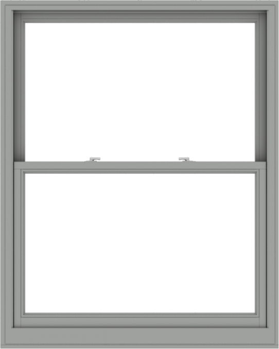 WDMA 48x60 (47.5 x 59.5 inch)  Aluminum Single Double Hung Window without Grids-1