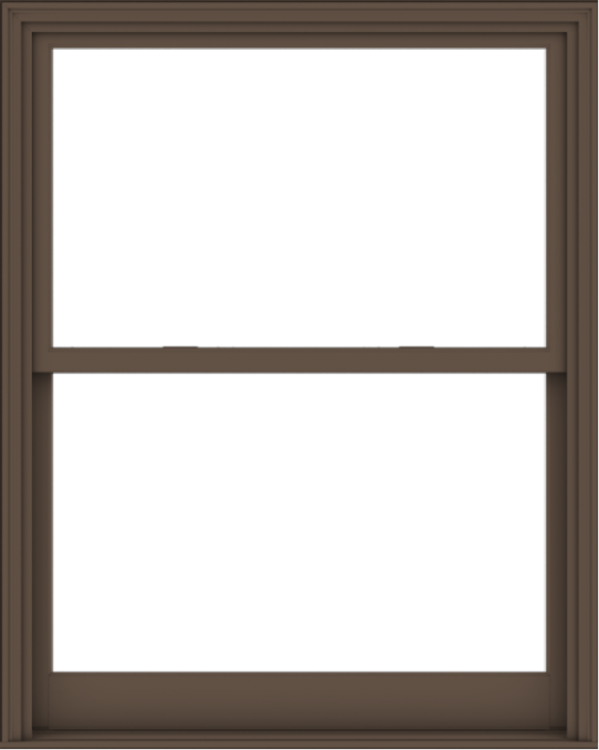 WDMA 48x60 (47.5 x 59.5 inch)  Aluminum Single Hung Double Hung Window without Grids-4