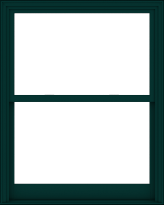 WDMA 48x60 (47.5 x 59.5 inch)  Aluminum Single Hung Double Hung Window without Grids-5