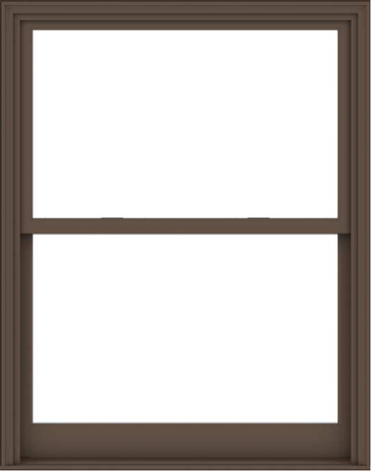 WDMA 48x61 (47.5 x 60.5 inch)  Aluminum Single Hung Double Hung Window without Grids-4