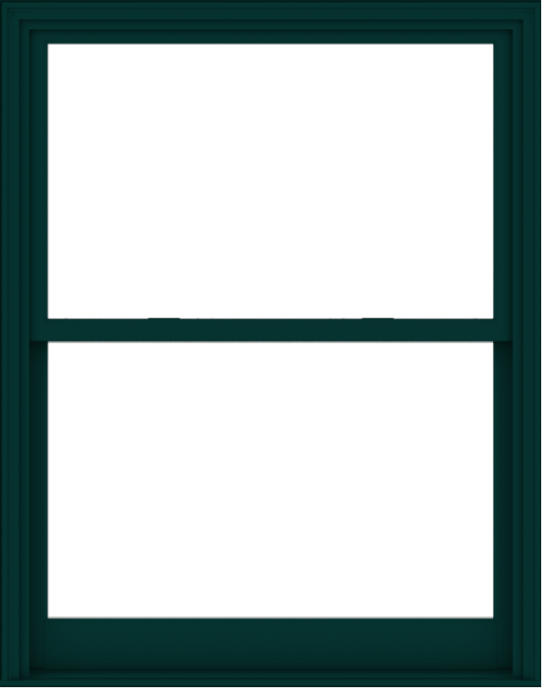 WDMA 48x61 (47.5 x 60.5 inch)  Aluminum Single Hung Double Hung Window without Grids-5