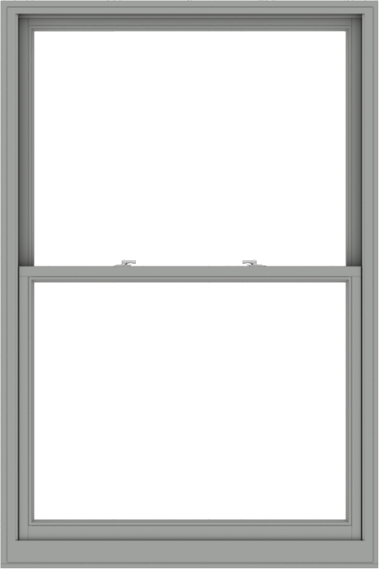 WDMA 48x72 (47.5 x 71.5 inch)  Aluminum Single Double Hung Window without Grids-1