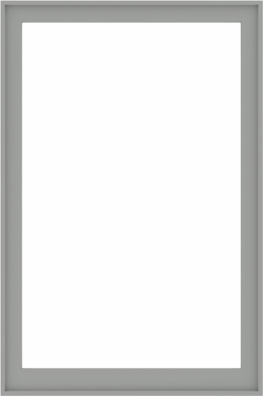 WDMA 48x72 (47.5 x 71.5 inch) Composite Wood Aluminum-Clad Picture Window without Grids-5