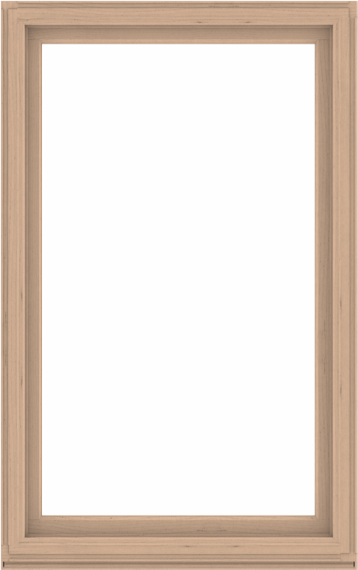 WDMA 48x76 (47.5 x 75.5 inch) Composite Wood Aluminum-Clad Picture Window without Grids-2
