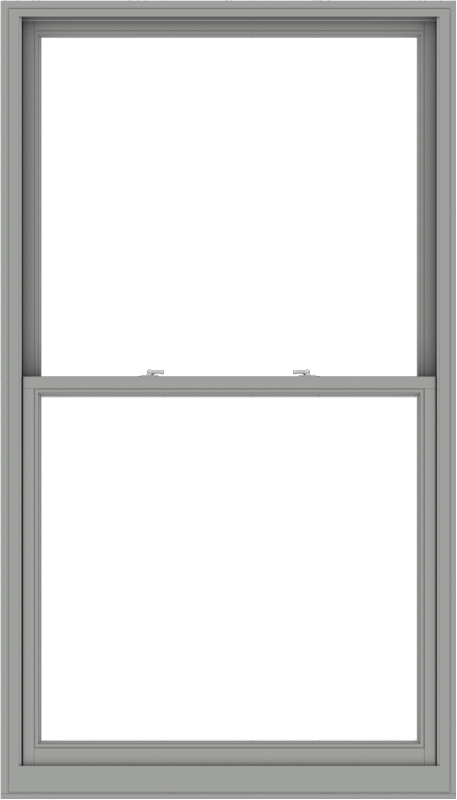 WDMA 48x84 (47.5 x 83.5 inch)  Aluminum Single Double Hung Window without Grids-1