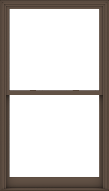 WDMA 48x84 (47.5 x 83.5 inch)  Aluminum Single Hung Double Hung Window without Grids-4