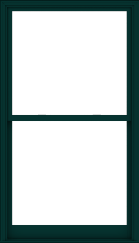 WDMA 48x84 (47.5 x 83.5 inch)  Aluminum Single Hung Double Hung Window without Grids-5