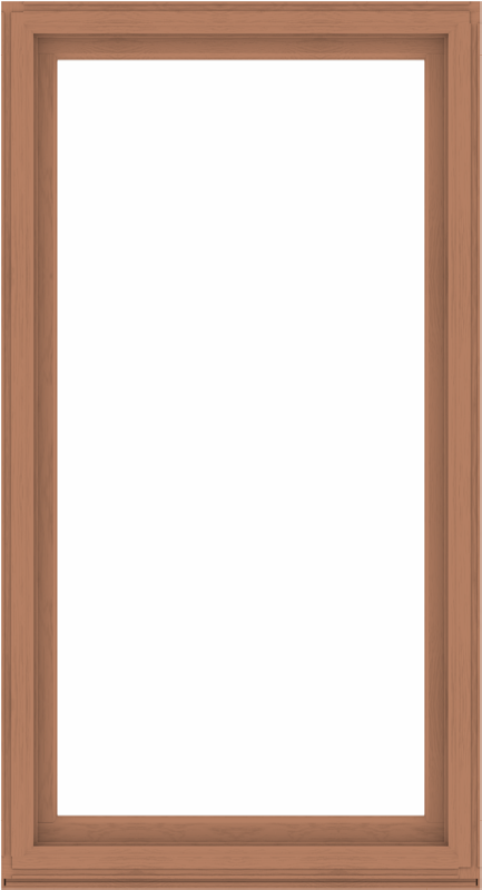 WDMA 48x88 (47.5 x 87.5 inch) Composite Wood Aluminum-Clad Picture Window without Grids-4