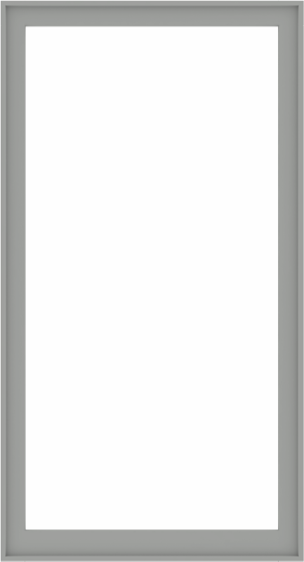 WDMA 48x88 (47.5 x 87.5 inch) Composite Wood Aluminum-Clad Picture Window without Grids-5