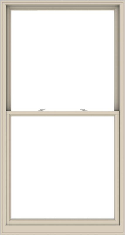 WDMA 48x90 (47.5 x 89.5 inch)  Aluminum Single Hung Double Hung Window without Grids-2