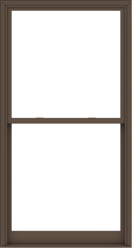 WDMA 48x90 (47.5 x 89.5 inch)  Aluminum Single Hung Double Hung Window without Grids-4